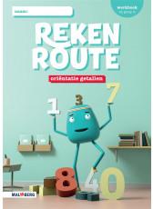 Rekenroute - grp3 - Oriëntatie getallen - Werkboek