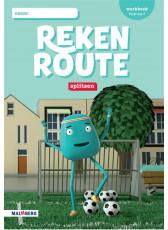 Rekenroute - grp3 - Splitsen - Werkboek