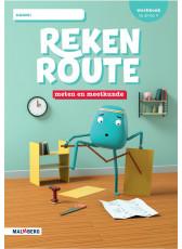 Rekenroute - grp3 - Meten en meetkunde - Werkboek