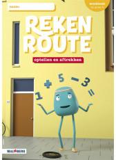Rekenroute - grp4 - Optellen en aftrekken/Splitsen - Werkboek
