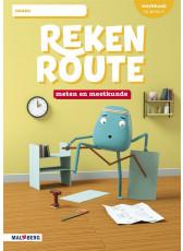 Rekenroute - grp4 - Meten en meetkunde - Werkboek