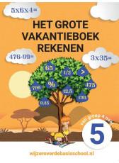 Het grote vakantieboek rekenen 4-5