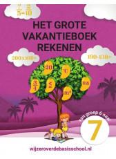 Het grote vakantieboek rekenen 6-7