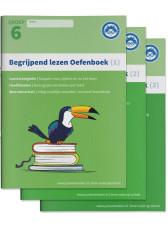 Begrijpend Lezen groep 6 - Oefenboeken 1,2,3 en antwoorden