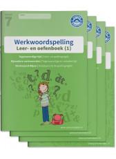 Junior Einstein - Werkwoordspelling groep 7 - Leer- en oefenboek - compleet