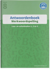 Junior Einstein - Werkwoordspelling groep 8 - Antwoordenboek
