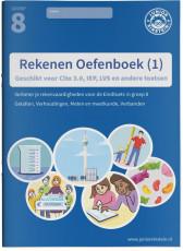 Junior Einstein Rekenen - Oefenboek groep 8 - deel 1