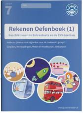 Junior Einstein Rekenen - Oefenboek groep 7 - deel 1