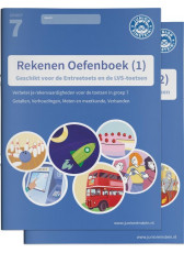 Junior Einstein Rekenen - Oefenboek groep 7 - deel 1 en 2