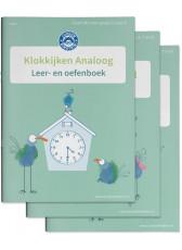 Junior Einstein - Klokkijken - Leer- en Oefenboek - Deel 1, 2 en 3