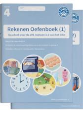 Junior Einstein Rekenen - Oefenboek groep 4 - deel 1 en 2