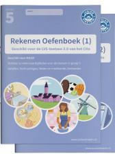 Junior Einstein Rekenen - Oefenboek groep 5 - deel 1 en 2