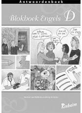 Blokboek Engels D Antwoorden