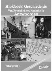 Blokboek geschiedenis 7 (herzien) antwoordenboek