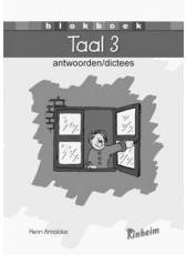 Blokboek Taal 3 - Antwoorden