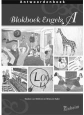 Blokboek Engels A - antwoordenboek