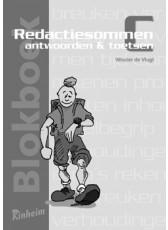 Blokboek Redactiesommen C antwoorden en toetsen