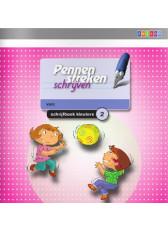 Pennenstreken v2 - 1,2 - schrijfboek kleuters