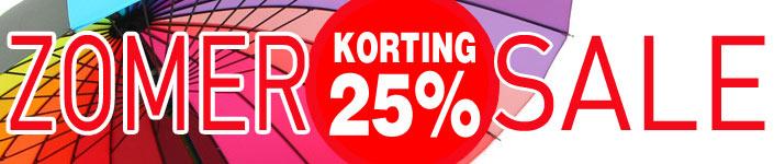 Zomer-25%korting-sale