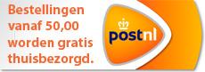 gratis bezorgen vanaf 50,00 euro
