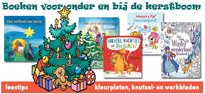 kerstboeken onze selectie werkbladen en kleurplaten