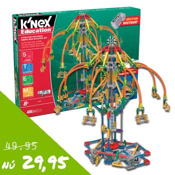 K'nex STEM 77077 Ontdek het pretpark van 49,95 voor 29,95